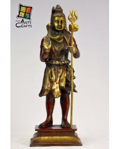 Shiv Brass Sculpture Standing
