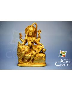 Shiv Parvati Brass Sculpture