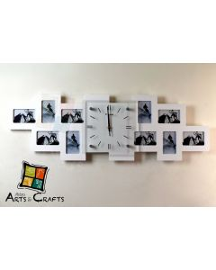 Wall Clock Photo Frame