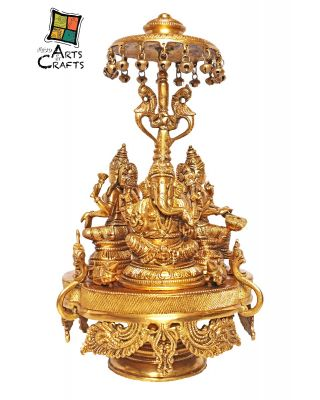 Brass Ganesha On Stand
