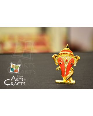 Ganesha Stone Embedded Car Ornament