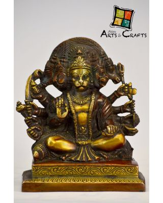 Hanuman ji Antique Brass Sculpture