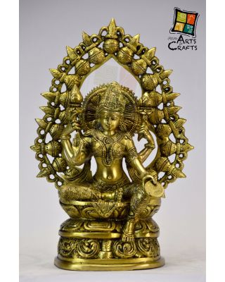 Laxmi Mata Brass Sculpture