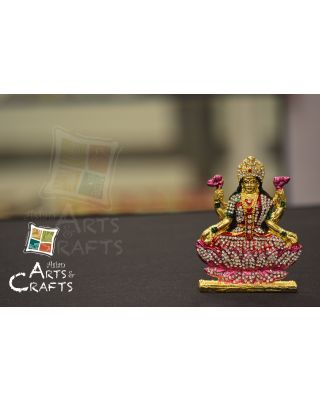 Laxmi Mata Stone Embedded Car Ornaments