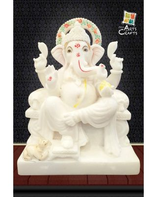 Marble Ganesha Antique