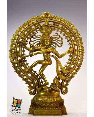 Natraj Brass Sculpture