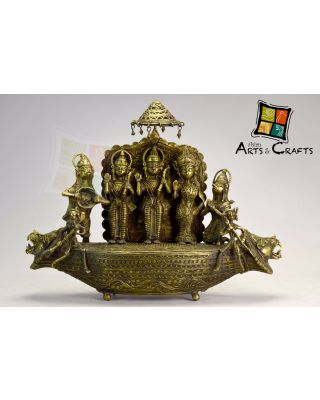 Ram Laxman  Sita Brass Sculpture Antique Design