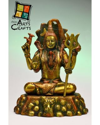 Shiv Brass Sculpture