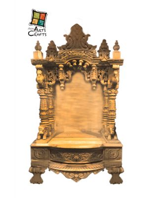 Customised Designer Wooden Temple