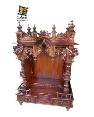 Antique Rosewood Temple