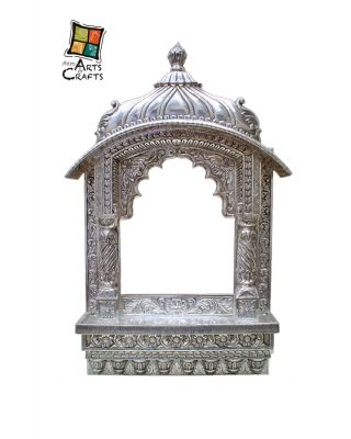 Silver Temple Wall Hanging
