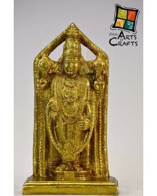 Vishnu Brass Sculpture