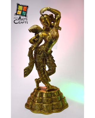 Women Brass Sculpture